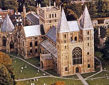 NorthWest Aerial View Southwell Minster